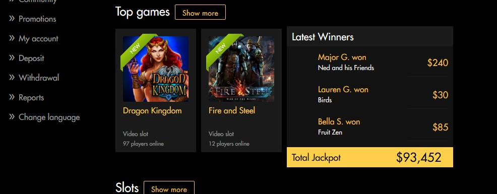 Black Diamond Mobile Casino Bonuses 2