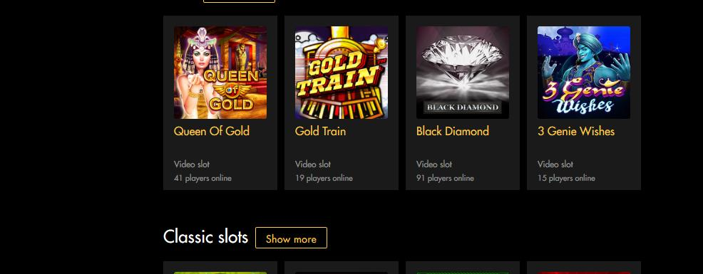 Black Diamond Mobile Casino Bonuses 3