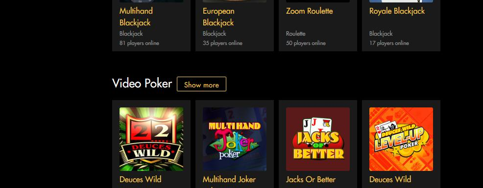 Black Diamond Mobile Casino Bonuses 6